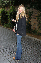 ALEXANDRA AITKEN at the No Campaign's Summer Party - a celebration of the 'Non' and 'Nee' votes in the Europen referendum in France and The Netherlands held at The Peacock House, 8 Addison Road, London W14 on 5th July 2005.<br /><br />NON EXCLUSIVE - WORLD RIGHTS
