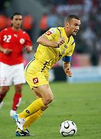 Photo: Chris Ratcliffe.<br /> Switzerland v Ukraine. 2nd Round, FIFA World Cup 2006. 26/06/2006.<br /> Andriy Shevchenko of Ukraine.