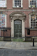 Entrance to the The Ark childrens centre on 05th April 2017 in Dublin, Republic of Ireland. The Ark is a cultural hub for kids, home to music, theatre and dance shows, workshops and exhibitions. Dublin is the largest city and capital of the Republic of Ireland.