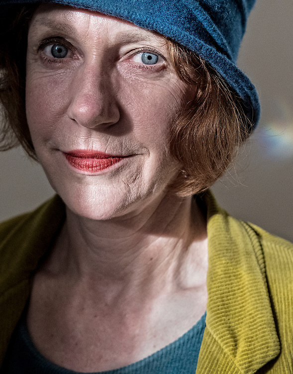 Netherlands. Amsterdam, 27-10-2017. Photo: Patrick Post.  Portret van Ulrike Guerot, a Berlin-based German political thinker and Founder and Director of the European Democracy Lab (EDL), a think tank dedicated to the future of European democracy.