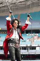 Alice Cooper at Fire Fight Australia at the  ANZ Stadium Sydney Australa 16 Feb 2020 Photo BY Rhiannon Hopley