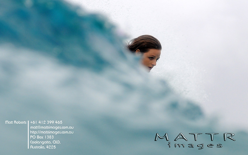 Gold Coast, Australia - March 1: Rebbeca Woods 9.07pts goes down to Hawaiian Coco Ho during round 1 of the Roxy Pro Gold Coast 2010 at Snapper Rocks on the Gold Coast, February 27, 2010 Photo by Matt Roberts/MATTRimages.com.au | Image ID: MTR_6157.jpg