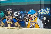 NBA-Kobe Bryant Mural-Sep 29, 2020