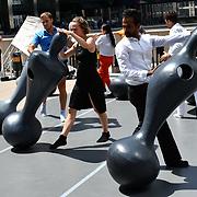 OSCYL Variation performs at GDIF - Dancing City at Canary Wharf, on 29 June 2019, London, UK.
