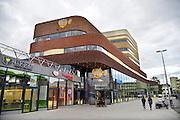 Nederland, Arnhem, 4-11-2015De nieuwe bioscoop van Pathe, pathé, met het grootste Imax projectiescherm van ons land, 24 meter breed en 12 hoog.FOTO: FLIP FRANSSEN/ HH