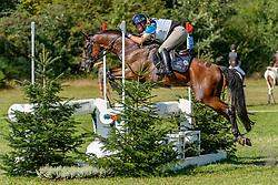 BIASIA Marco (ITA), Junco CP<br /> Luhmühlen - LONGINES FEI Eventing European Championships 2019<br /> Impressionen Zieleinlauf<br /> Geländeritt CCI 4*<br /> Cross country CH-EU-CCI4*-L<br /> 31. August 2019<br /> © www.sportfotos-lafrentz.de/Tanja Becker