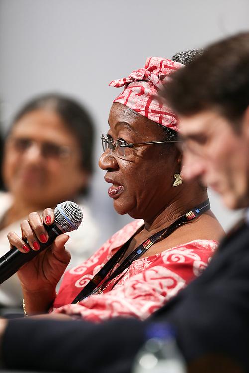 03 June 2015 - Belgium - Brussels - European Development Days - EDD - Urban - Sustainable cities - Good for the global North , but not the global South? - Clara Doe Mvogo , Mayor of Monrovia , Liberia © European Union