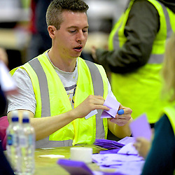 SCOTTISH PARLIAMENTARY ELECTION 2016 – Counting Agents at work at Royal Highland Centre, Edinburgh<br />(c) Brian Anderson   Edinburgh Elite media