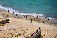 Football Game on the Beach, Elmina