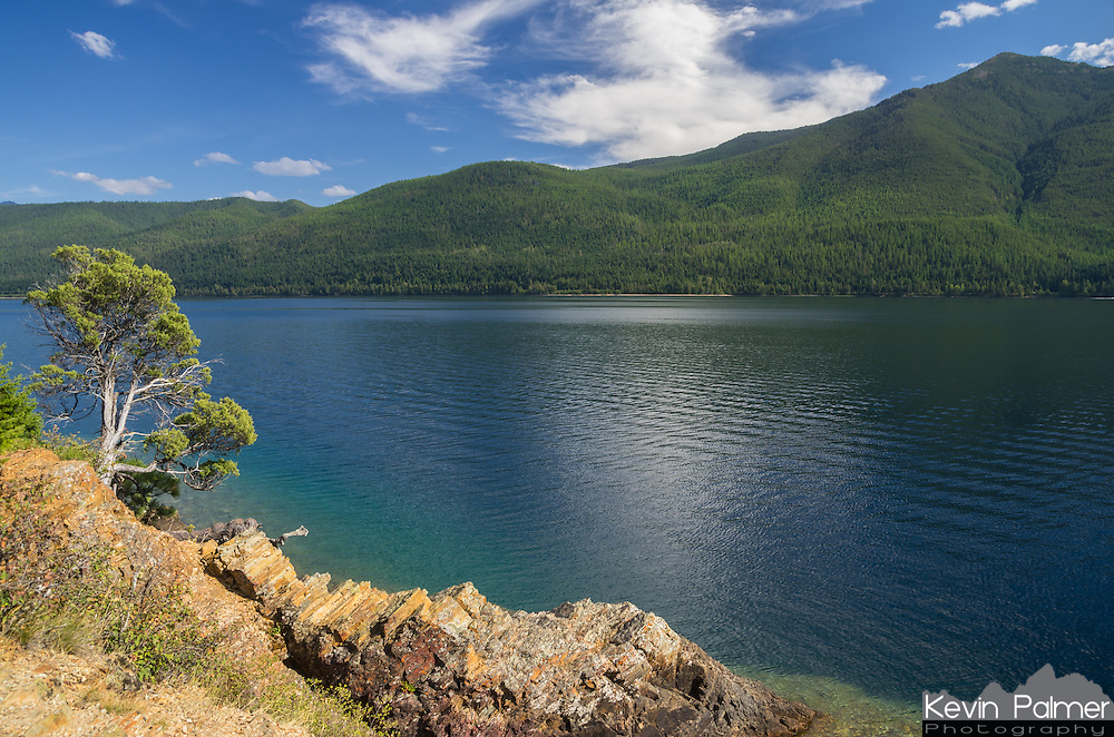 I loved the color of the water in Lake McDonald. Without a snowcapped peak in the picture, this scene almost looked tropical. Rocky Point is located on the southern end of the lake, near Fish Creek campground.