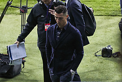 February 19, 2019 - Madrid, Madrid, Spain - Juventus' player Cristiano Ronaldo seen visiting the field before the UEFA Champions League match between Atletico de Madrid and Juventus at the Wanda Metropolitano Stadium in Madrid. (Credit Image: © Legan P. Mace/SOPA Images via ZUMA Wire)