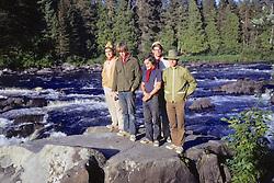 Allagash River Canoe Trip Group Photo