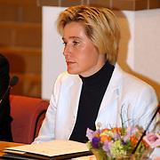 Intallatie nieuwe raadsleden gemeente Huizen, VVD fractie Jessica Prins