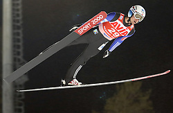 12.12.2015, Nordic Center, Nizhny Tagil, RUS, FIS Weltcup Ski Sprung, Nizhny Tagil, Herren, im Bild Joachim Hauer (NOR) // Joachim Hauer of Norway during mens Skijumping Competition of FIS Skijumping World Cup at the Nordic Center in Nizhny Tagil, Russia on 2015/12/12. EXPA Pictures © 2015, PhotoCredit: EXPA/ Tadeusz Mieczynski