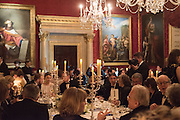 Professor Mikhail Piotrovsky Director of the State Hermitage Museum, St. Petersburg and <br /> Inna Bazhenova Founder of In Artibus and the new owner of the Art Newspaper worldwide<br /> host THE HERMITAGE FOUNDATION GALA BANQUET<br /> GALA DINNER <br /> Spencer House, St. James's Place, London<br /> 15 April 2015