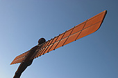 Angel of the North Sculpture Images. By British artist Anthony Gormley