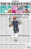 February 14, 2021 (UK): Front-page: Today's Newspapers In United Kingdom
