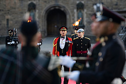 Edinburgh, Scotland, UK. 5 August, 2019.  The Royal Edinburgh Military Tattoo forms part of the Edinburgh International festival. Pictured; opening ceremony with Quaich of whisky