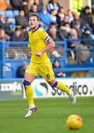 Leeds United Defender Liam Cooper during the Sky Bet Championship match between Sheffield Wednesday and Leeds United at Hillsborough, Sheffield, England on 16 January 2016. Photo by Adam Rivers.
