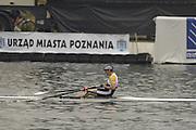 Poznan, POLAND.  2006, FISA, Rowing World Cup, Men's single final, GBR M1X, Alan  CAMBPELL,   'Malta Regatta course;  Poznan POLAND, Sat. 17.06.2006. © Peter Spurrier   ....[Mandatory Credit Peter Spurrier/ Intersport Images] Rowing Course:Malta Rowing Course, Poznan, POLAND
