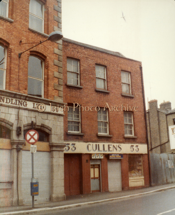 Old Dublin Amature Photos July 1983 WITH, Broadstone House, Steps, North Kings St, Mountjoy, St, Convent, Cullens 53, Whiskey Still, Kings Inn, Old amateur photos of Dublin streets churches, cars, lanes, roads, shops schools, hospitals