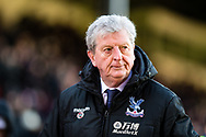 Roy Hodgson Crystal Palace manager after the Premier League match between Crystal Palace and Tottenham Hotspur at Selhurst Park, London, England on 25 February 2018. Picture by Sebastian Frej.