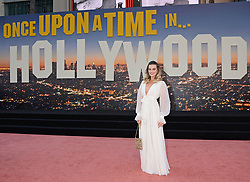Once Upon a Time in Hollywood Premiere. 22 Jul 2019 Pictured: Margot Robbie. Photo credit: MEGA TheMegaAgency.com +1 888 505 6342