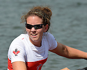 Trackai. LITHUANIA. CAN BW4-. Bow, Christine ROPER, Susanne GRAINGER, Cherly COPSON and Antje VON SEYDLITZ-KURZBACH Gold medalist in the women's four at the 2012 FISA U23 World Rowing Championships,  Lake Galve.    16:21:16  Saturday  14/07/2012 [Mandatory Credit: Peter Spurrier/Intersport Images]..Rowing. 2012. U23.