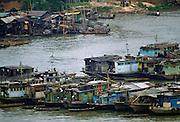 Pearl River, Canton,  China.