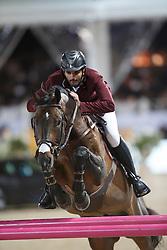 Al Attiyah Hamad Ali, (QAT), Whitaker<br /> Global Champions Tour Antwerp 2016<br /> © Hippo Foto - Dirk Caremans<br /> 22/04/16