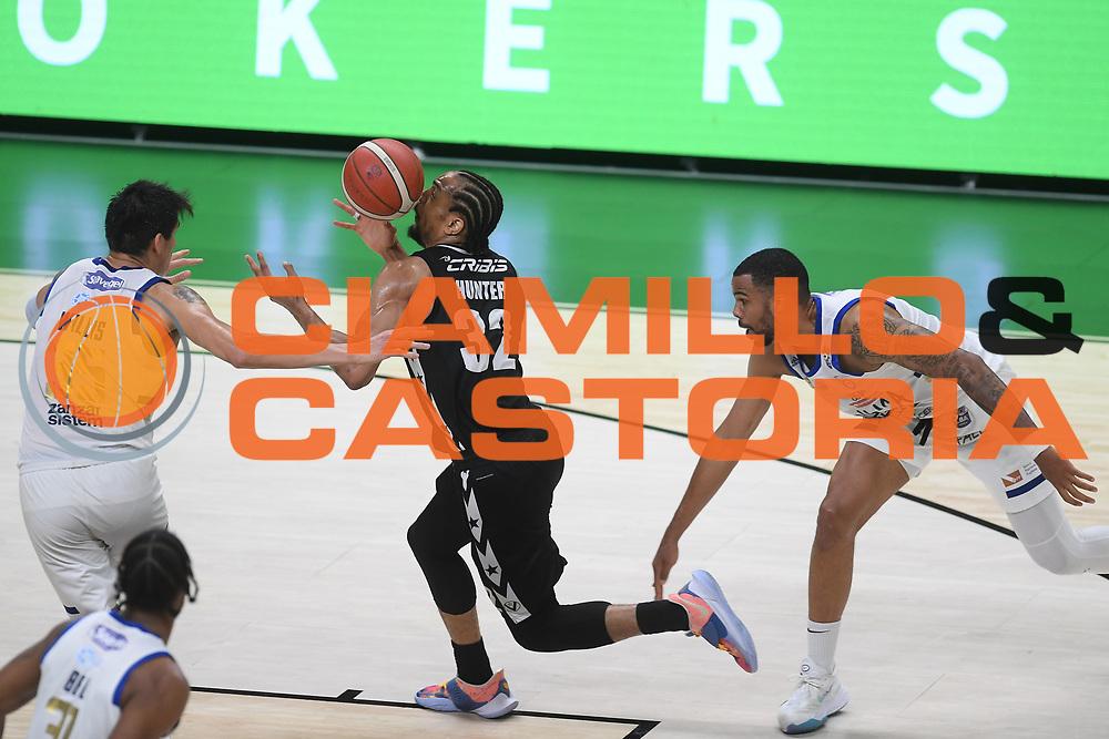 Hunter Vincent<br /> Segafredo Virtus Bologna - Happy Casa Brindisi<br /> Semifinali - Gara 3<br /> Legabasket Serie A UnipolSAI 2020/2021<br /> Bologna, 02/06/2021<br /> Foto GiulioCiamillo / Ciamillo-Castoria