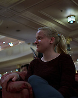 Student at the Evening Pre-port Seminar. Image taken with a Fuji X-T1 camera and 23 mm f/2 lens.