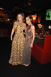 Left to right, KIMBERLEY WALSH and CHERYL COLE at the London Red Cross Ball themed 'Honky Tonk Blues' held at 99 Upper Ground, London SE1 on 21st November 2007.<br />