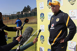 383<br /> 19/07/2012<br /> Doctor Khumalo a Kaizer Chiefs assistant coach at the training turf in Naturena, Johannesburg. Chiefs will be joined by Wits, SuperSport United and Moroka Swallows in the preseason tournament that will take place on the 21st July. They will get the opportunity to show their numerous new stars when they take part in the Gauteng Sports Challenge.<br /> Picture: Motshwari Mofokeng