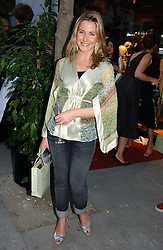 SOPHIE JOHNSTONE fiance of the Hon.Ed Tollemache at a party to celebrate the re-launh of Penhaligon's at 132 Kings Road, London SW3 on 7th June 2006.<br />