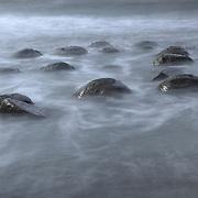 Bowling Ball Beach Misting Surf - Gallaway, CA