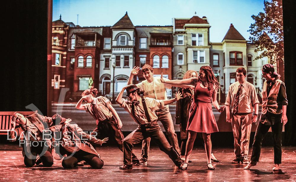 "Norwood High Drama in Norwood MA presents ""Hearts like Fists"" by Adam Szymkowicz. May 2017"