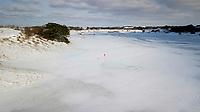 ZANDVOORT - Winter 2021. De Kennemer G&CC in de sneeuw.   COPYRIGHT  KOEN SUYK