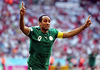 1:2 jubel Sami Al Jaber Saudi Arabien<br /> Fussball WM 2006 Tunesien - Saudi-Arabien<br /> Tunisia - Saudia-Arabia<br /> <br />  Norway only