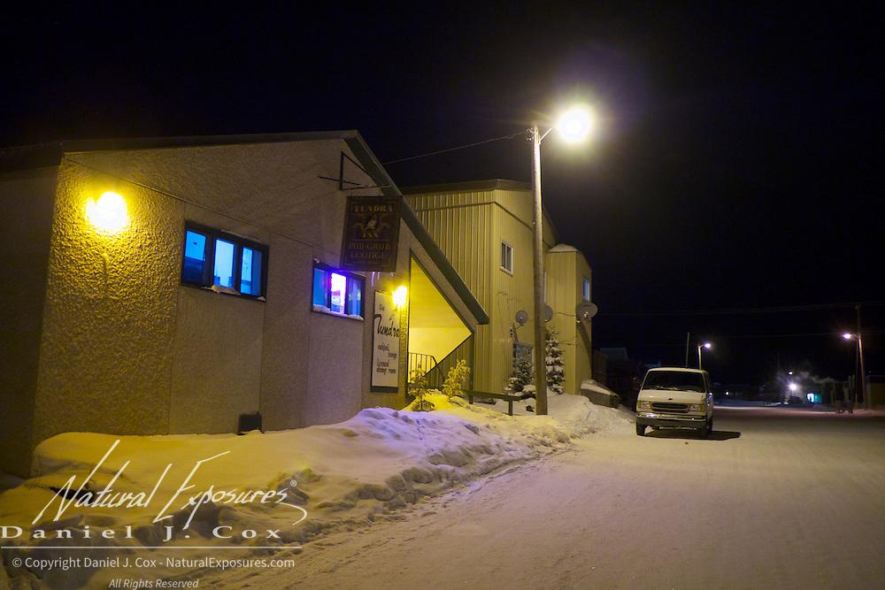 The streets of Churchill, Manitoba.