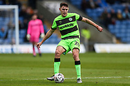 Forest Green Rovers Paul Digby(20) during the The FA Cup 1st round match between Oxford United and Forest Green Rovers at the Kassam Stadium, Oxford, England on 10 November 2018.