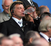 Photo: Paul Thomas.<br /> Bolton Wanderers v Liverpool. The Barclays Premiership. 30/09/2006.<br /> <br /> Bolton manager Sam Allardyce before the game.