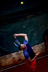 June 16, 2018 - L'Aquila, Italy - Pietro Licciardi during match between Pietro Licciardi (ITA) and Andrea Picchione (ITA) during day 1 at the Interzionali di Tennis Citt dell'Aquila (ATP Challenger L'Aquila) in L'Aquila, Italy, on June 16, 2018. (Credit Image: © Manuel Romano/NurPhoto via ZUMA Press)