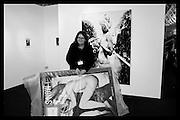 WORK BY FLORIAN HEINKE; HEIKE STRELOW, London Art Fair, Business Design Centre, Upper St. Islington. 19 January 2015
