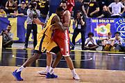 Mouhammadou Jaiteh Cain Tyler<br /> FIAT Torino - Openjobmetis Varese<br /> Lega Basket Serie A 2018-2019<br /> Torino 24/03/2019<br /> Foto M.Matta/Ciamillo & Castoria