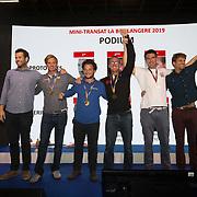 Les podiums de la Moini-Transat La Boulagère 2019