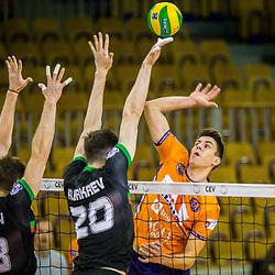 20171108: SLO, Volleyball - CEV CL Qualif. 2017/18, ACH Volley Ljubljana vs Lokomotiv Novosibirsk