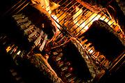 Brumadinho_MG, Brasil...Detalhe de churrasco para o festival gastronomico Sabor e Saber...Detail of barbaques for the gastronomy festival Sabor e Saber...Foto: BRUNO MAGALHAES / NITRO