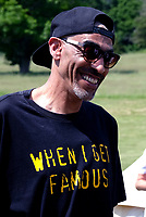 Leeroy Thornhill at the launch party for  the Mucky Weekender Festival.,taking place 10-11 September at the Vicarage Farm, Winchester.photo by Dawn Fletcher Park