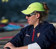 Amsterdam. NETHERLANDS. USA W8+, Eleanor LOGAN. 2014 FISA  World Rowing. Championships.  De Bosbaan Rowing Course . 08:16:18  Thursday  21/08/2014  [Mandatory Credit; Peter Spurrier/Intersport-images]